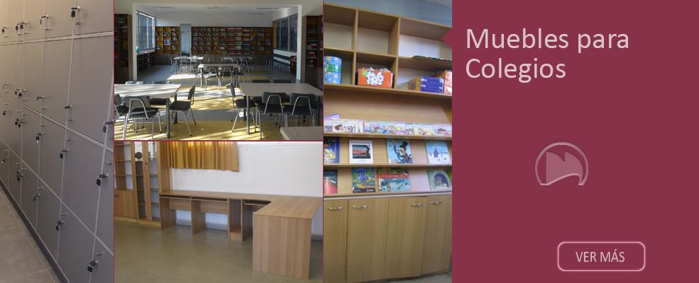 Muebles moraga mendez for Muebles colegio